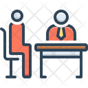Interview Rondeau Interrogation Icon