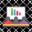 Graph Interview Recruitment Icon