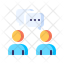 Podcast Interview Communication Icon