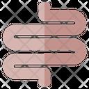 Intestine Organ Medical Icon