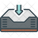 Into Saved Data Saved Icon