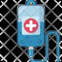 Intravenous Syringe Vaccine Icon