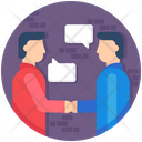 Introduction Meeting Handshake Icon