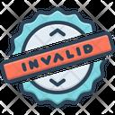 Invalid Risk Interface Icon