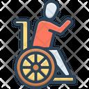 Invalid Unwell Ailing Icon