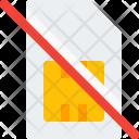 Invalid Sim Card Icon