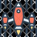 Invasion Attack Aggression Icon