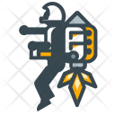 Invention Rocket Space Icon