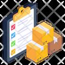 Checklist Inventory Logistics Checklist Icon