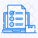 Inventory List Product List Task List Icon