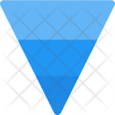 Inverted pyramid Icon