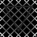 Inverted triangle Icon
