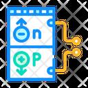 Working Principle Photovoltaic Icon