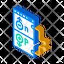 Working Principle Isometric Icon
