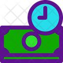 Invest Time Banking Icon