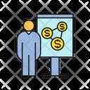 Invest Present Money Icon