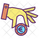 Mput Money Invest Euro Invest Money Icon