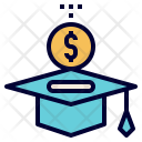Invest Education Student Icon
