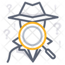 Investigate Spy Data Collection Icon