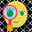 Investigate Examine Research Icon