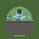 Investigate Experiment Research Icon