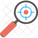 Investigation Target Magnifier Icon
