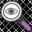 Monitoring Investigation Seo Icon