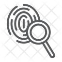 Investigation Crime Exploration Icon