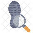 Investigation Detective Shoes Icon