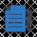 Investigation File Document Icon
