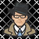 Investigator Trenchcoat Asian Icon