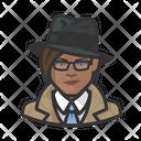 Investigator Woman Investigator Woman Icon