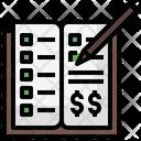 Investing Books Money Icon
