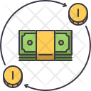 Banknote Investment Turnover Icon