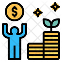 Investment Business Money Icon
