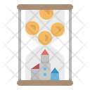 Investment Hourglass Time Icon