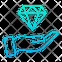Diamond Diamond Investment Invest Icon