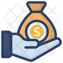 Donation Charity Capital Icon
