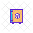 Investment Locker Lock Icon