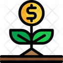Investment Business Plant Money Plant Icon