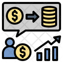 Investment Growth Profit Icon