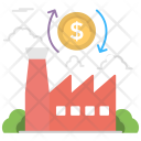Investment Money Processing Icon