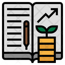Learning Investment Investment Funds Icon