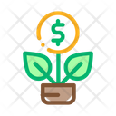 Plant Business Concept Icon
