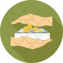 Investment Coins Dollars Icon