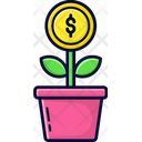 Startup Investment Money Icon