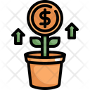 Money Tree Profit Icon