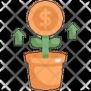 Investment Money Tree Icon
