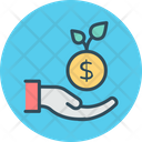 Investment Growth Startup Icon