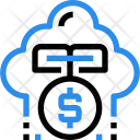 Investment Cloud Cost Icon